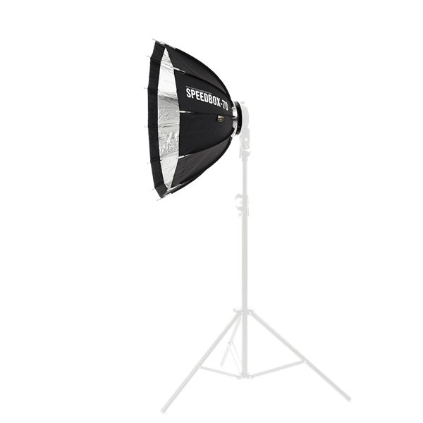 Softbox_SMDV_Speedbox_70_mit_Bowens_Mount_auf_stativ_a.png