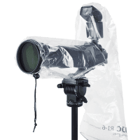 Rain Cover RI-6 for DSLR Cameras with Flashgun 2pcs from JJC