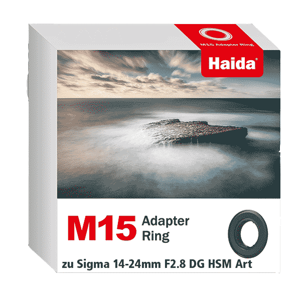 Haida M15 Adapter Ring zu Sigma 14-24mm F2.8 DG HSM Art Objketiv