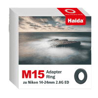 Haida M15 Adapter Ring zu Nikon 14-24mm 2.8G ED Objektiv