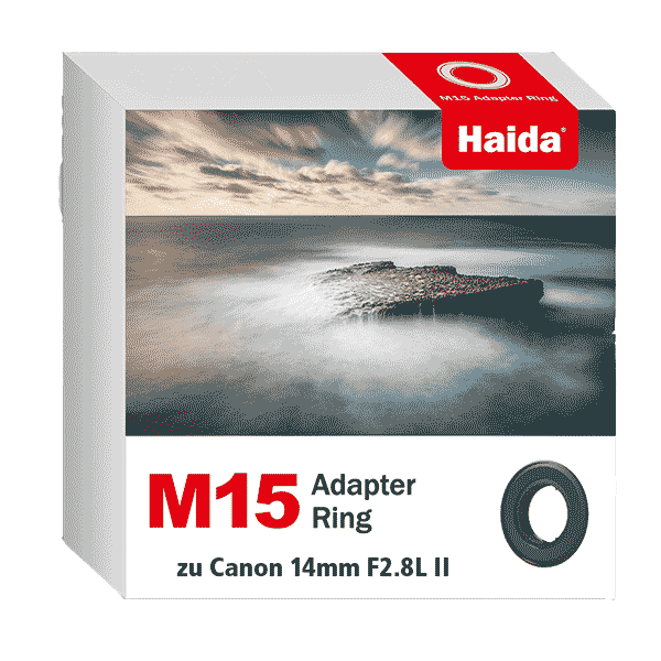 Haida M15 Adapter Ring zu Canon 14mm F2.8L II Objektiv