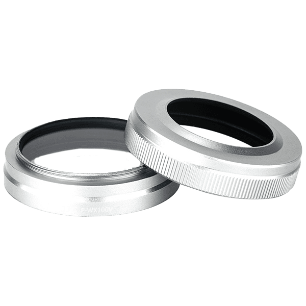 F_WX100V_Filter__Lens_Hood_Kit_For_Fujifilm_X100V_in_silver_einzeln_a.png